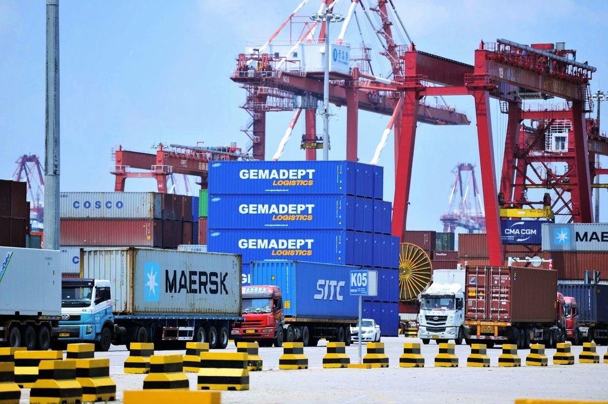 周四(8月1日),美國貿易代表從上海返美後,美國總統特朗普發推表示,自9月1日起,對剩下3000億美元中國進口商品加徵10%關稅。(AFP/Getty Images)