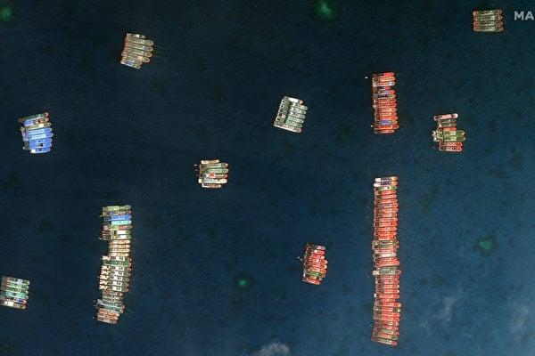中菲局勢升級 菲律賓:近三百艘中共民兵船入侵
