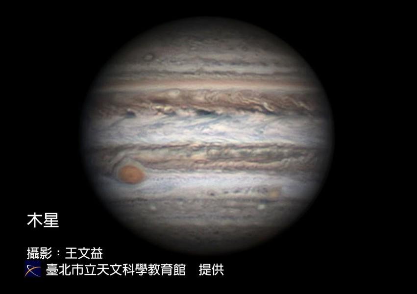木星「衝」來了 大紅斑奇特變化受關注