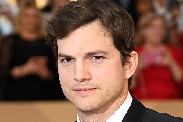 荷里活影星庫奇(Ashton Kutcher)資料照。(Frazer Harrison/Getty Images)