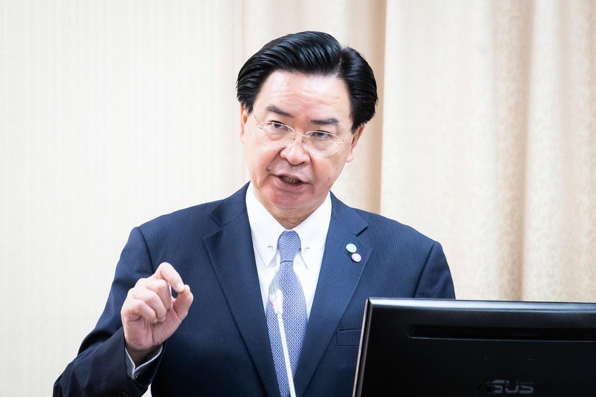 中華民國外交部長吳釗燮。(陳柏州/大紀元)