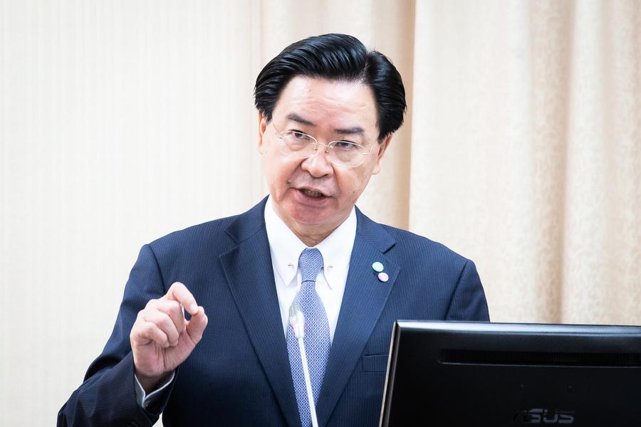 台外長:中共挑釁不只針對台灣 全球應警覺