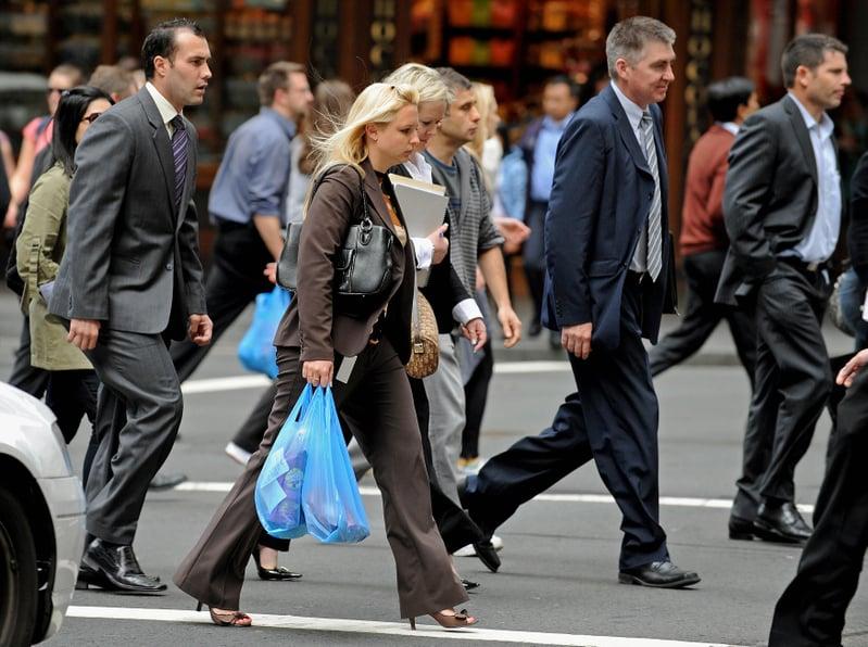 最新民意調查顯示,近九成澳洲人對中國(中共)不信任,澳人對中國(中共)的信任度降至歷史最低點。(WOOD/AFP/Getty Images)