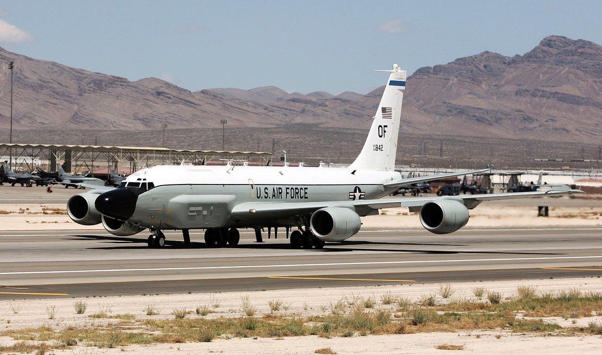 美軍的RC-135U電子偵察機。(Ethan Miller/Getty Images)