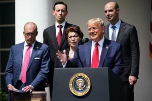 特朗普:對中美貿易協議看法有所改變