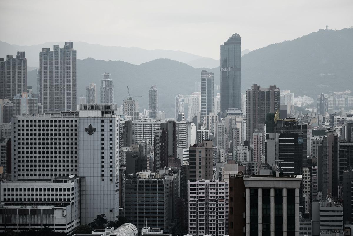 白宮發言人麥肯阿尼此前表示,美國總統特朗普認為,如果中共執行「港版國安法」,香港將失去亞洲金融中心地位。(PHILIPPE LOPEZ/AFP via Getty Images)
