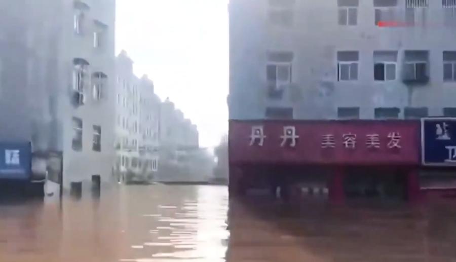 洪水淹城政府無作為 衛輝人大逃難