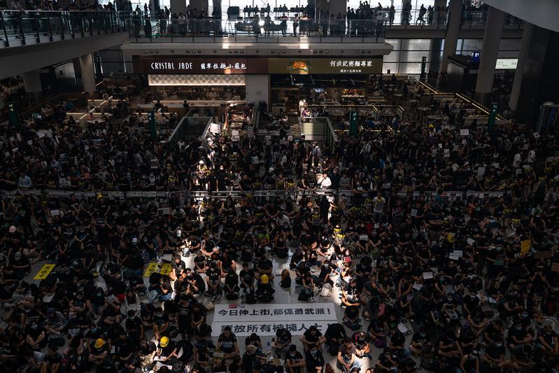 中共稱香港現「恐怖主義苗頭」遭聯合國反駁