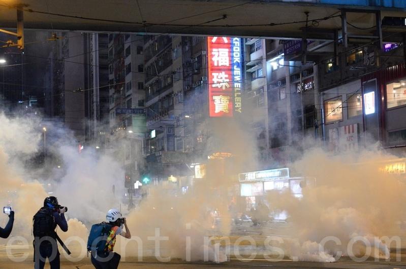 組圖:11.2求援國際集會遭警清場 多人被捉