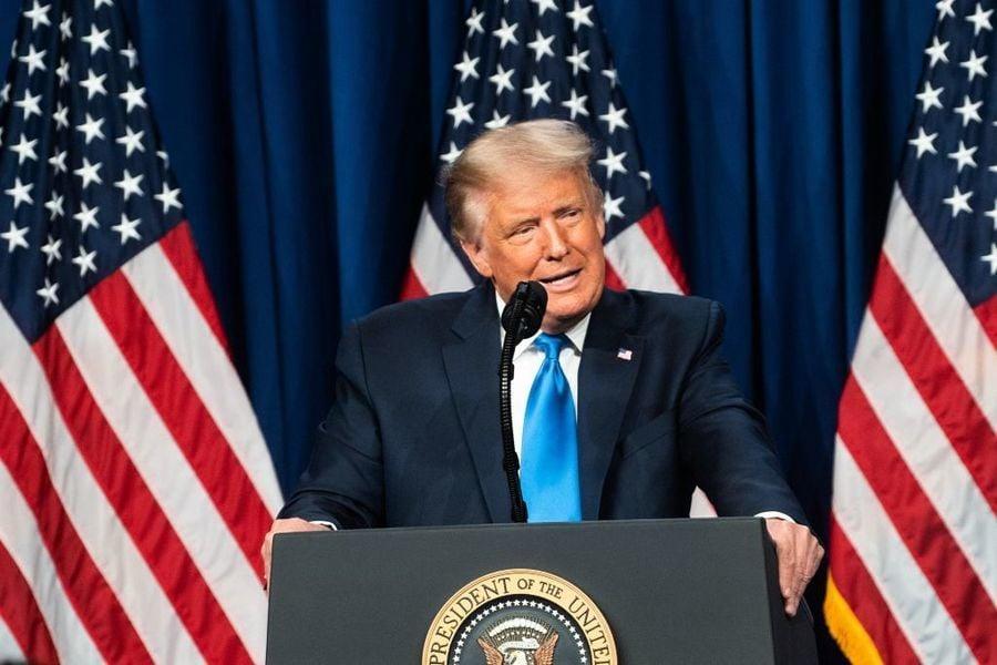 特朗普提名演講:永不忘記中共造成美國疫情