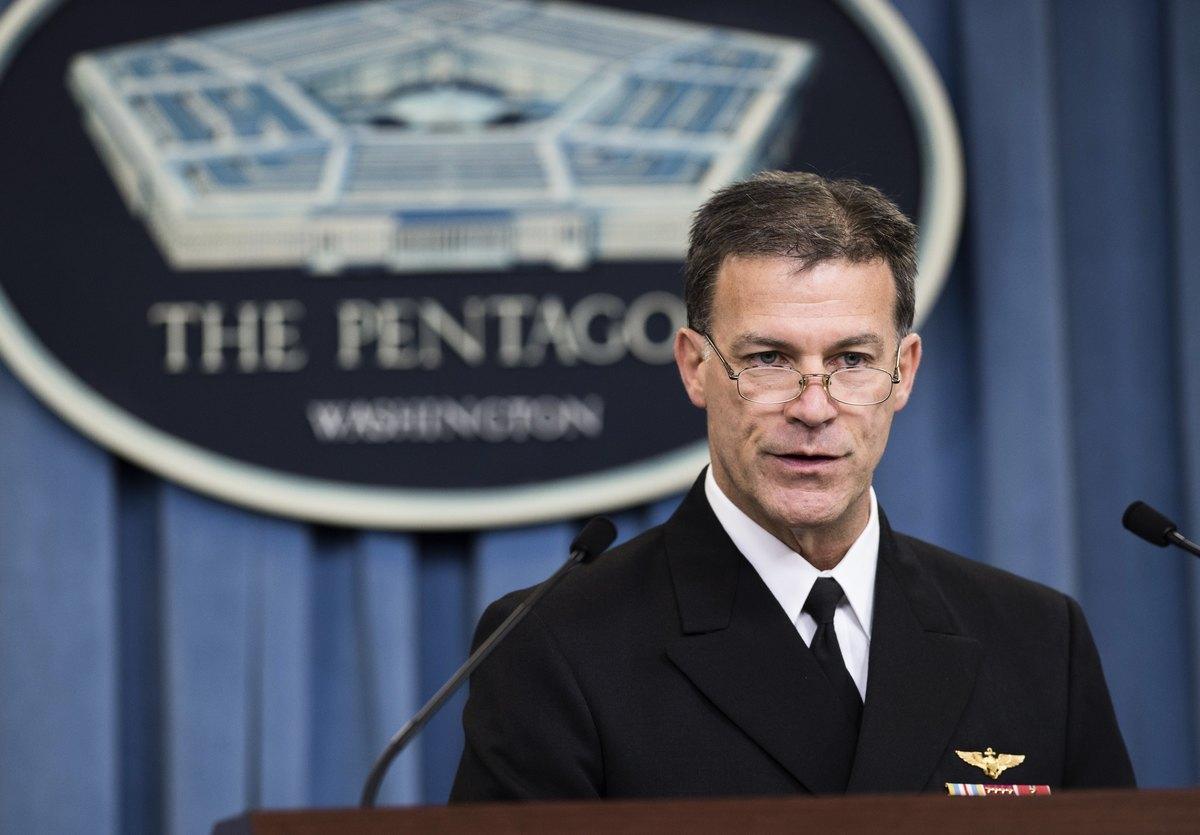 新任美軍印太司令、海軍上將約翰·阿基里諾(John Aquilino)。(SAUL LOEB/AFP via Getty Images)