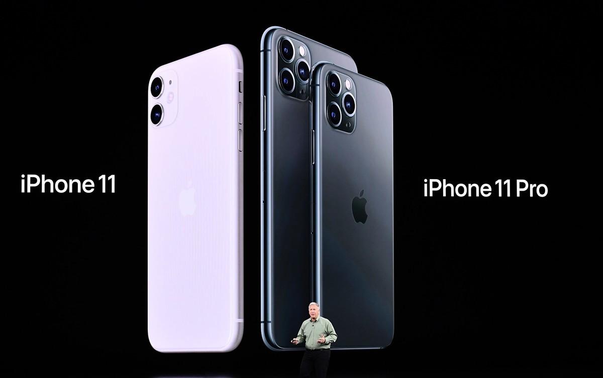 2019年9月10日,在加利福尼亞州庫比蒂諾(Cupertino)蘋果公司總部舉行的產品發布會上,蘋果全球營銷高級副總裁菲爾·席勒(Phil Schiller)介紹了新款 iPhone 11、 iPhone 11 Pro和iPhone 11 Pro Max。(JOSH EDELSON/AFP/Getty Images)