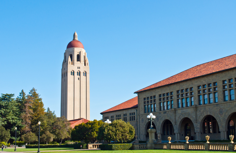 位於加州三藩市灣區的史丹福大學。(Fotolia)