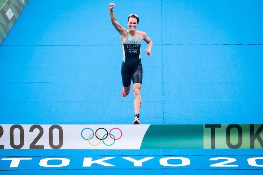 東奧7.27|女子三項鐵人  百慕達史上首金  破奧運奪金人口最少國家