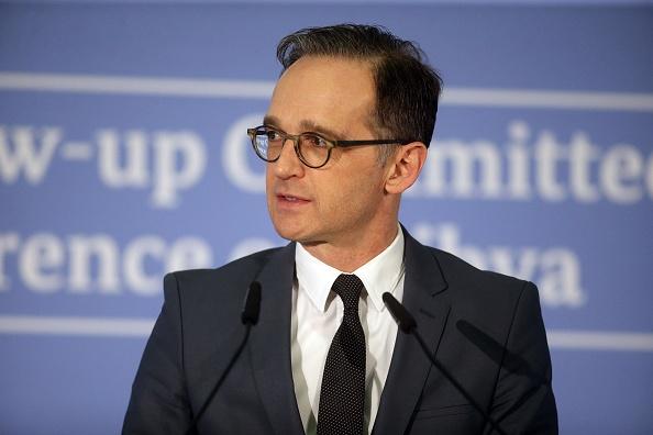 德國外長馬斯多次要求中共在對待疫情問題上必須透明。圖為他今年2月在一次會議上。(Johannes Simon/Getty Images)