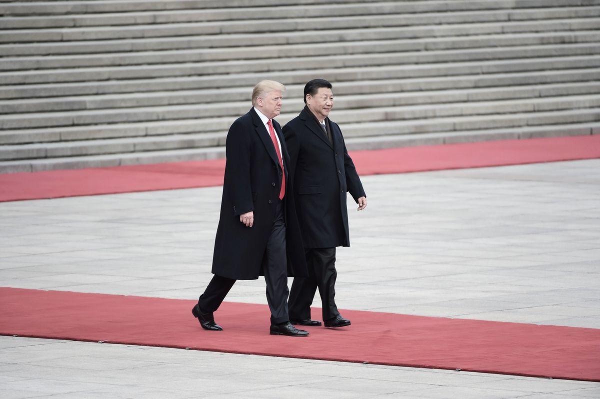 三位知情人士表示,美中官員商討如果周六(12月1日)特習會達成貿易戰休戰協議,雙方或於12月中旬在華府重啟貿易談判。(FRED DUFOUR/AFP/Getty Images)