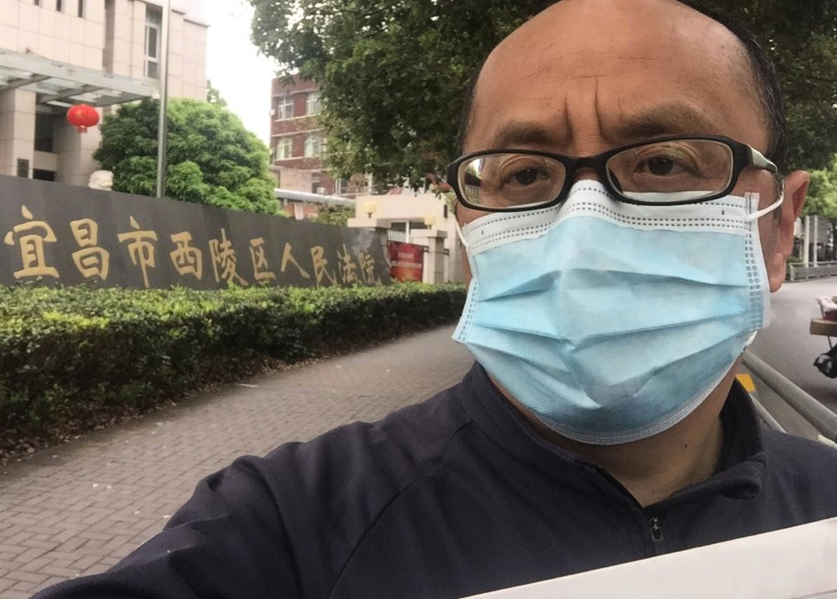 湖北公務員起訴政府隱瞞疫情(大紀元圖片)