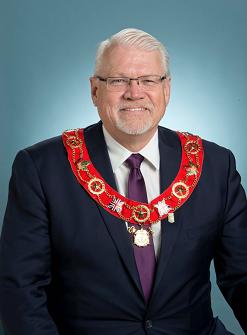市長Sandy Brown宣佈2021年5月13日為Orangeville「法輪大法日」。
