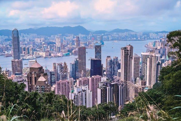 香港地產公司待售房屋和去年同期相比約大增44%。(大紀元資料圖片)