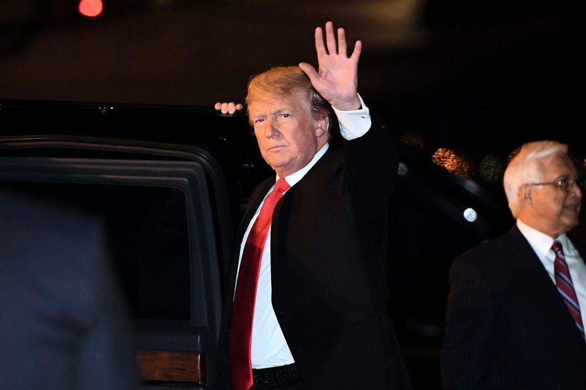 特朗普表示,未來將與中俄討論失控的軍備競爭。(SAUL LOEB/AFP/Getty Images)