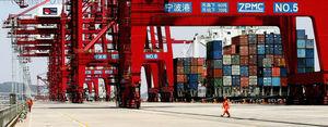 寧波因疫情封部份港口 或導致全球貨運積壓