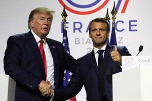 G7峰會期間 美國與法國達成數字稅協議
