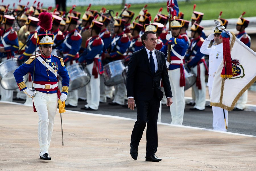 巴西新總統正式就職 特朗普:美國與你在一起