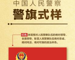 中共警察警旗亮相 彰顯「黨衛軍」本色