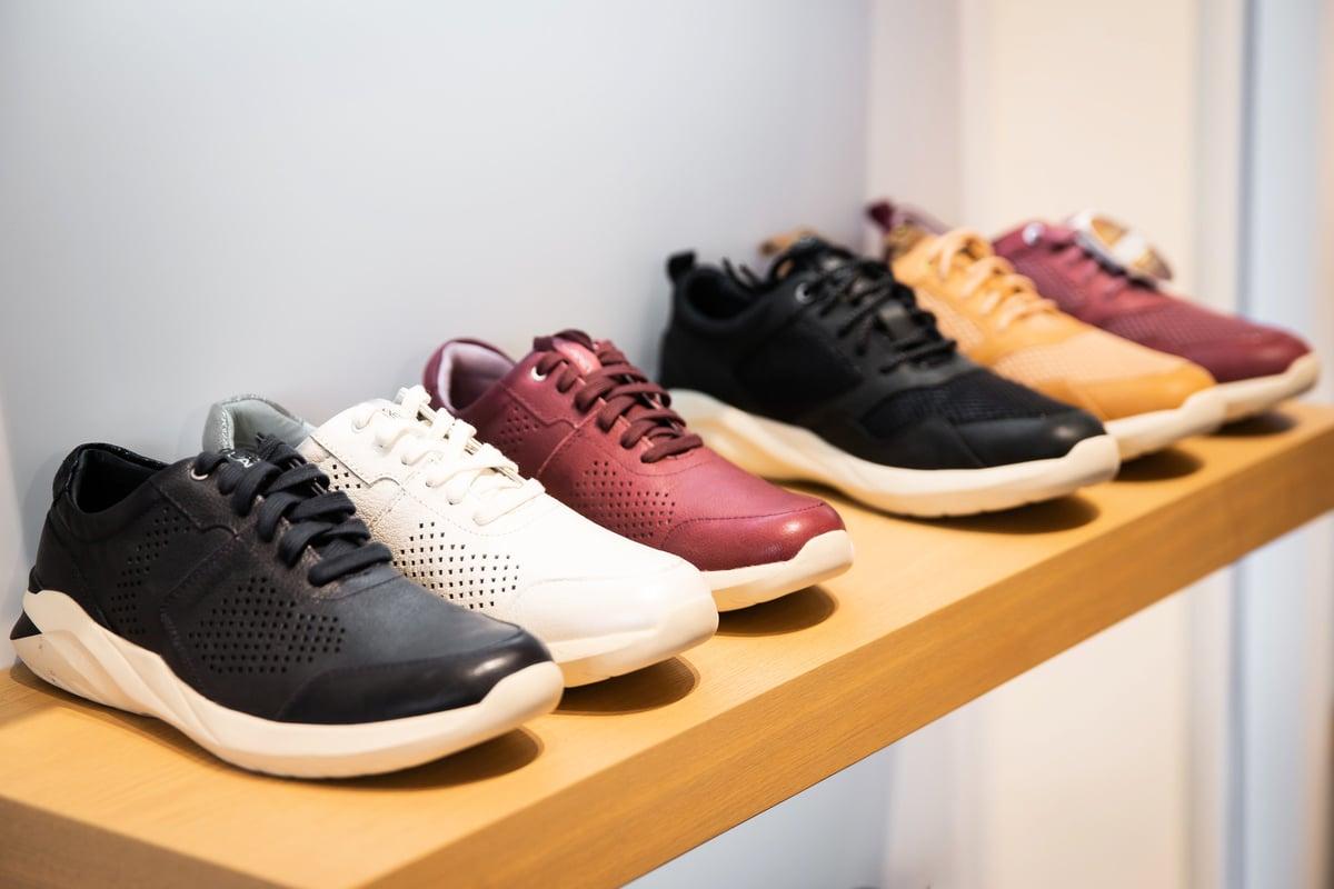 中共病毒重創大陸鞋業市場。圖為資料照。(陳柏州/大紀元)