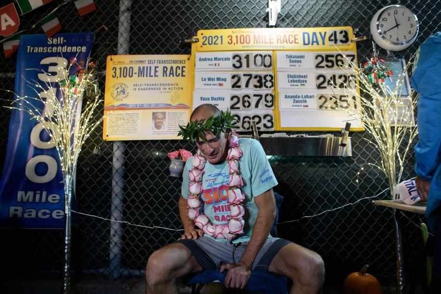 世界最長距離馬拉松 意大利選手43天內完成5000km路程奪冠