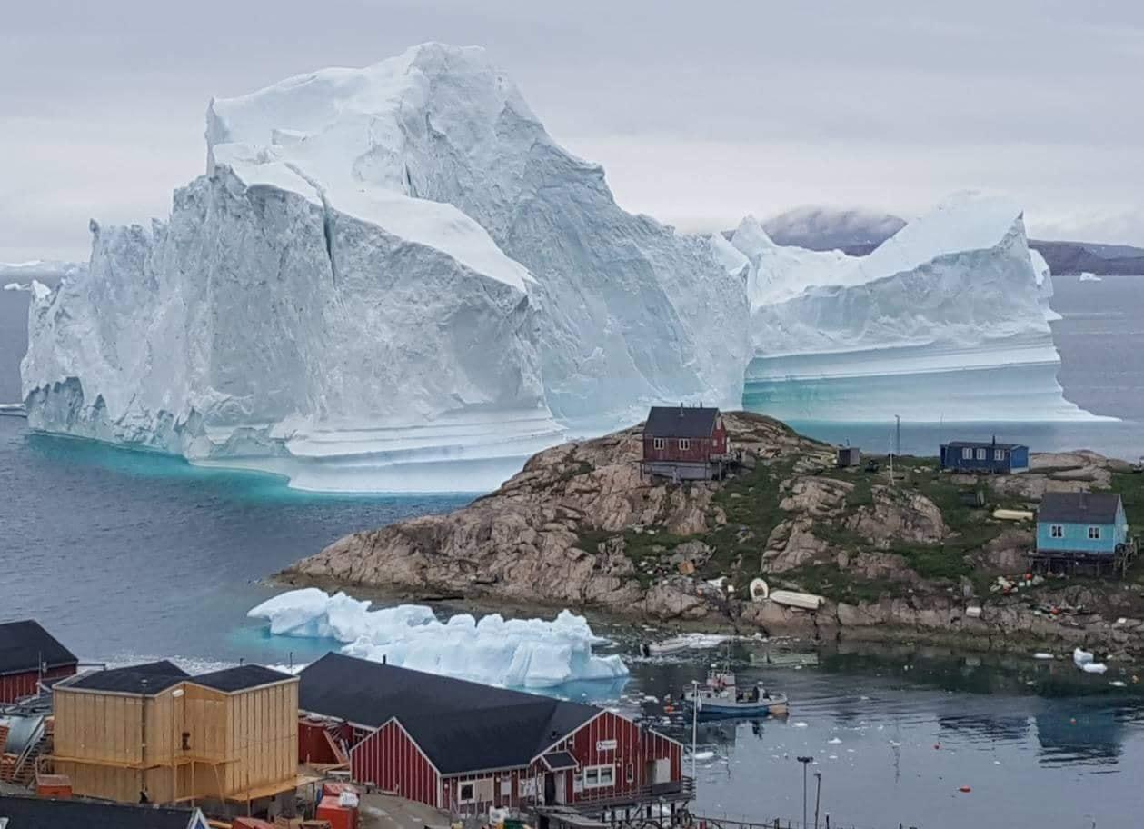 格陵蘭是世界上最大的島嶼,但人口僅為56,000人,是一個經濟落後的地區,長期接受丹麥的經濟資助。(MAGNUS KRISTENSEN/AFP/Getty Images)