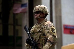 國民警衛隊進入舊金山灣區城市瓦列霍 協助平亂
