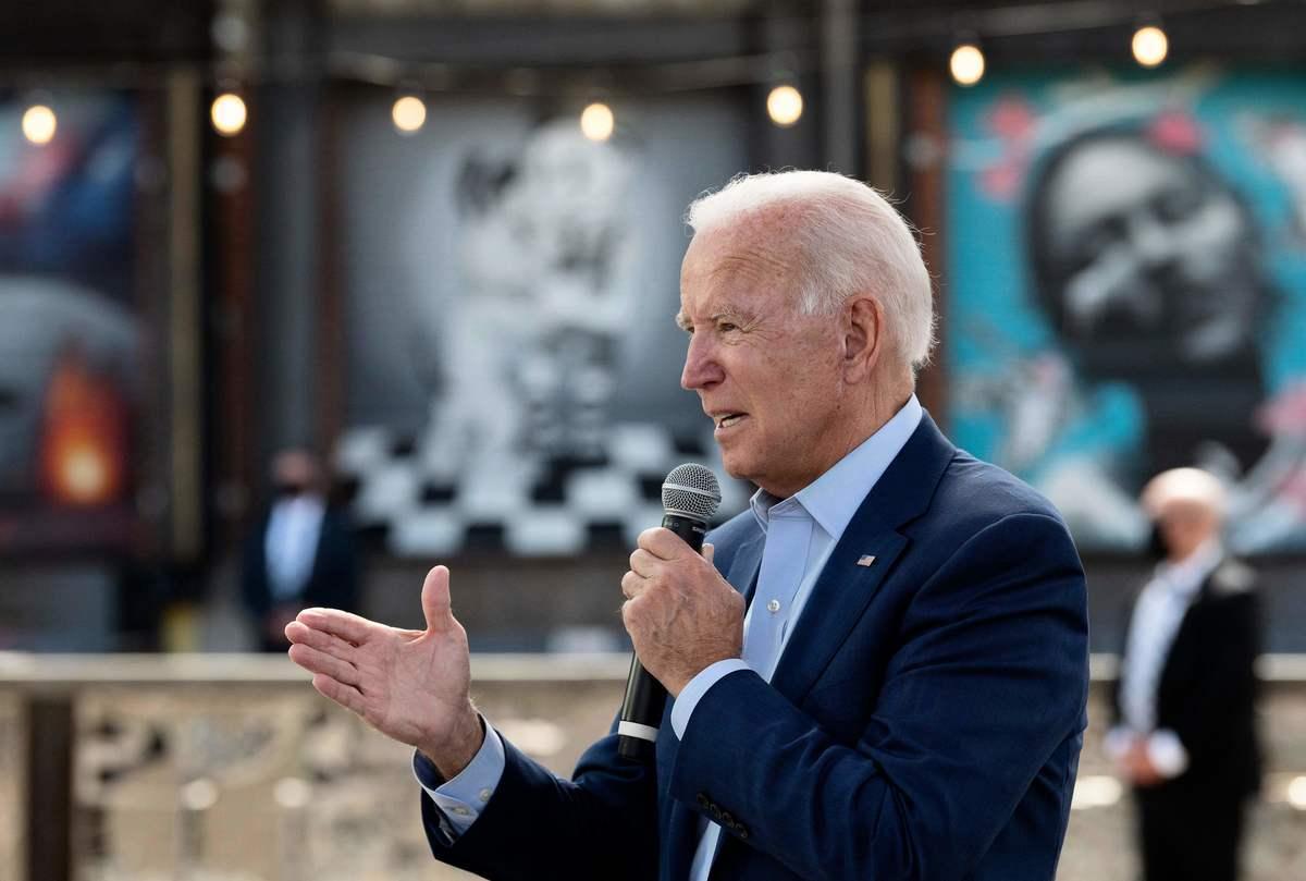 圖為民主黨總統候選人拜登。(JIM WATSON/AFP via Getty Images)