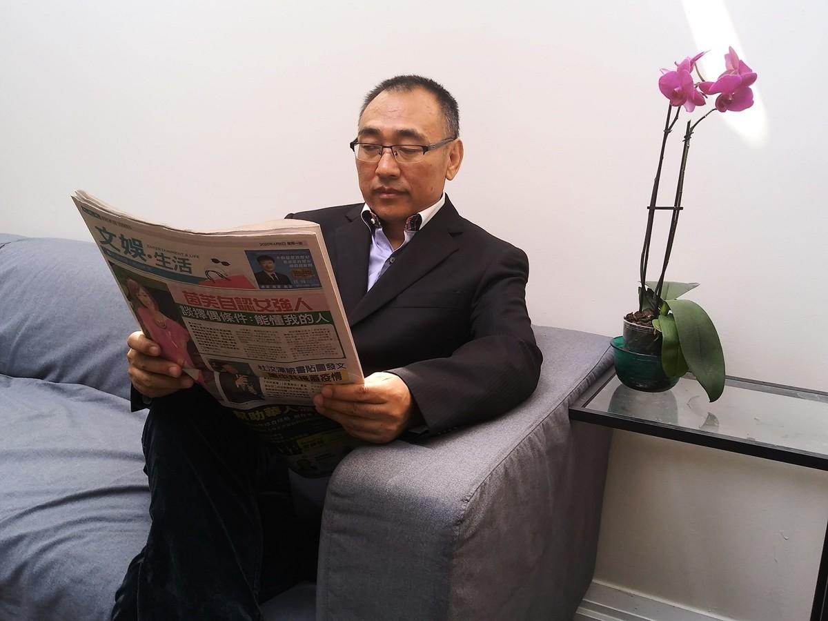 2020年4月8日,從中國逃亡加拿大的北京著名中醫師趙中元接受《大紀元》專訪,講述11年來的人生起伏及心路歷程。(伊鈴/大紀元)