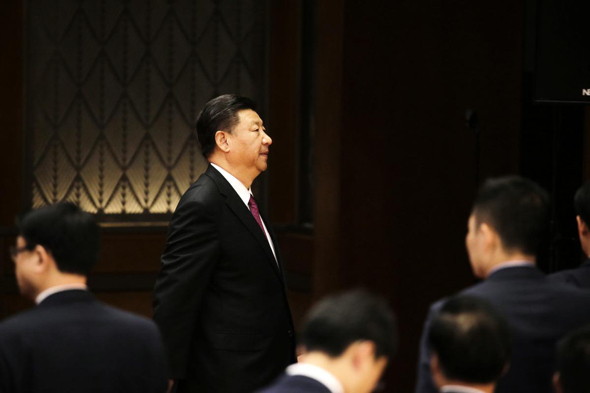 中國國家主席習近平近期推動的內循環經濟政策,在官場和民間存在質疑。(JASON LEE/AFP via Getty Images)