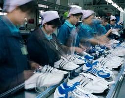 貿易戰衝擊 大陸25%運動服生產線閒置