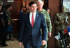 美防長:與塔利班達和平協議 美重兵對付中共