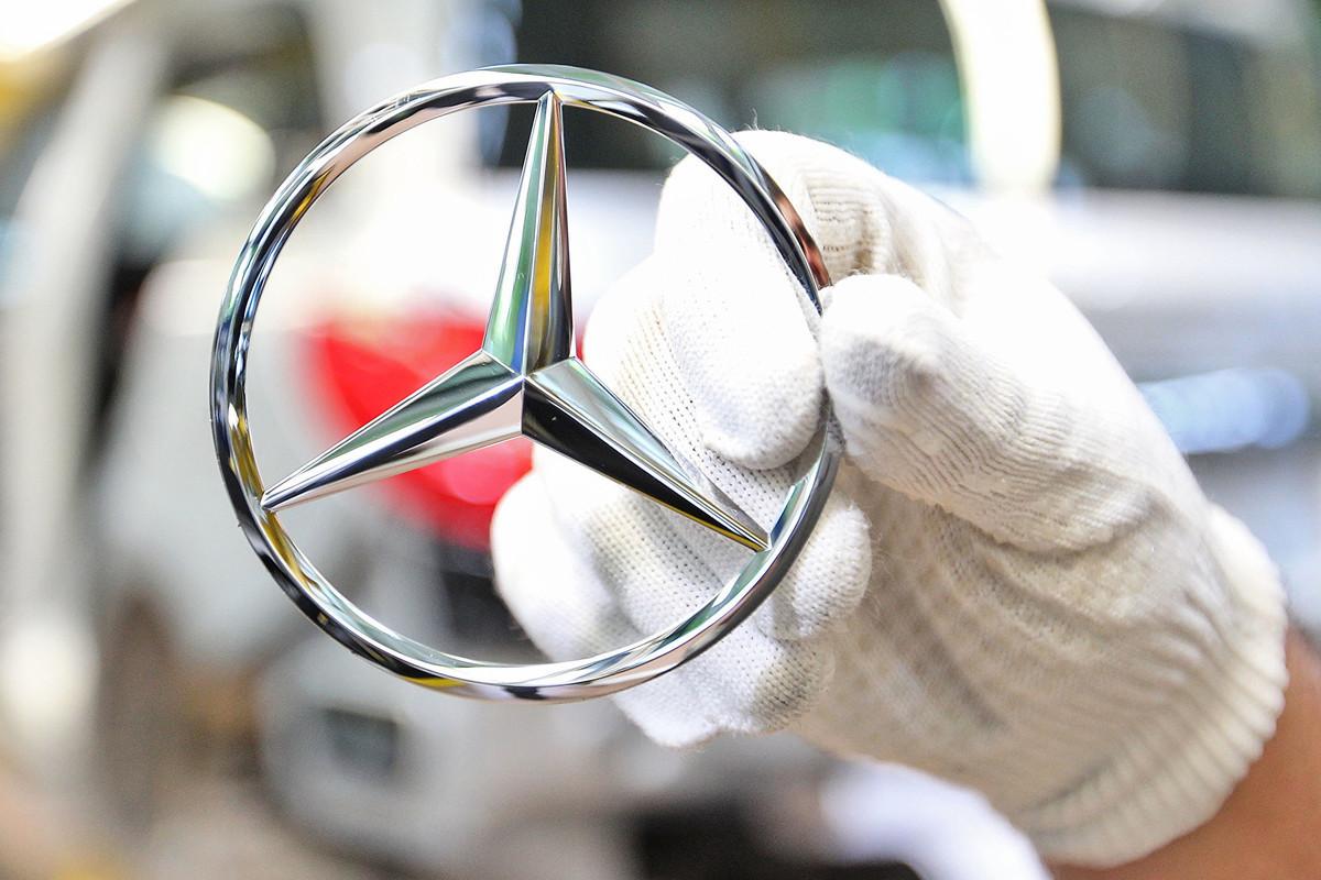 德國汽車製造商戴姆勒公司近日公佈,今年第二季度虧損16億歐元。(Thomas Niedermueller/Getty Images)