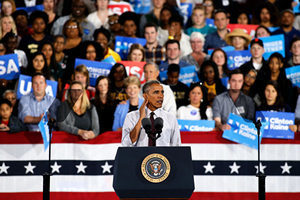 特朗普勝算提高 奧巴馬敦促非裔:快行動