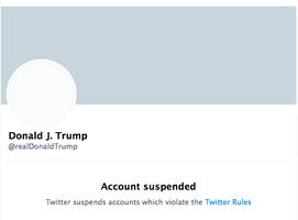 推特永久凍結帳號 特朗普將自行搭建平台發聲