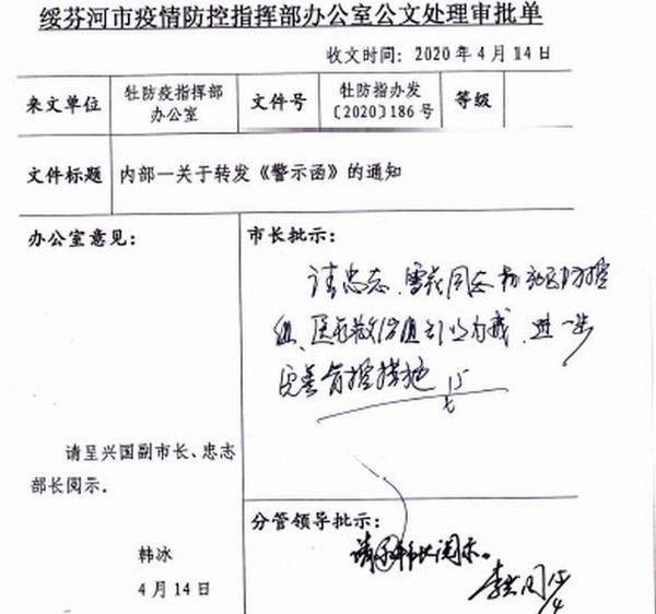 近日大紀元獲得的中共內部文件顯示,哈爾濱疫情失控,黑龍江省發給地方的文件中也承認了這點。(大紀元)