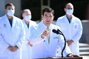 白宮醫生:特朗普現在沒有中共病毒症狀