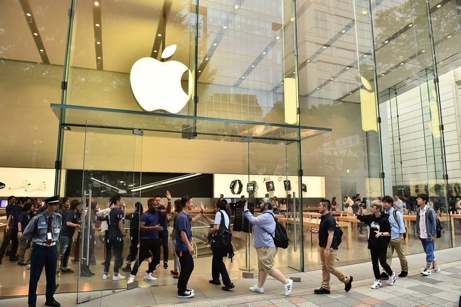 不懼貿易戰衝擊 華爾街上調蘋果目標價