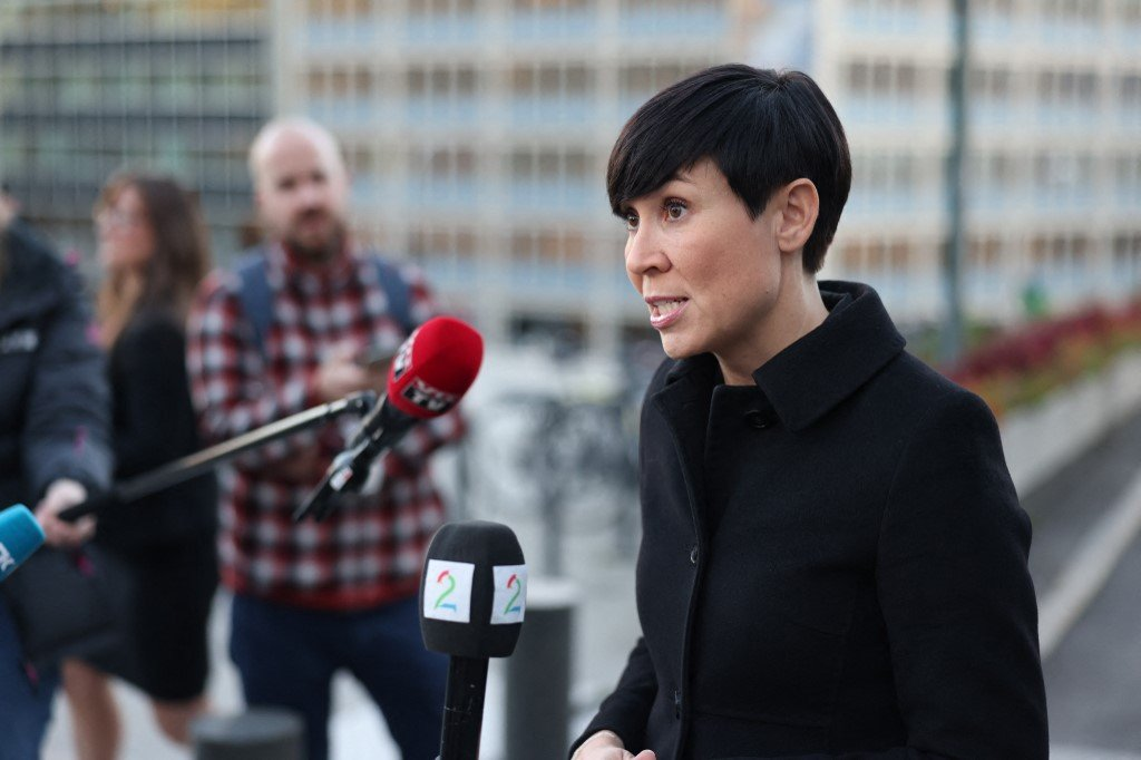 挪威當局周一(7月19日)表示,今年3月10日對議會電子郵件系統的網絡攻擊來自中國境內。挪威外交部長索雷德(Ine Eriksen Soereide,圖)說:「這是一起攻擊我們最重要民主機構的嚴重事件。」(Photo by Orn E. BORGEN/NTB/AFP)/Norway OUT