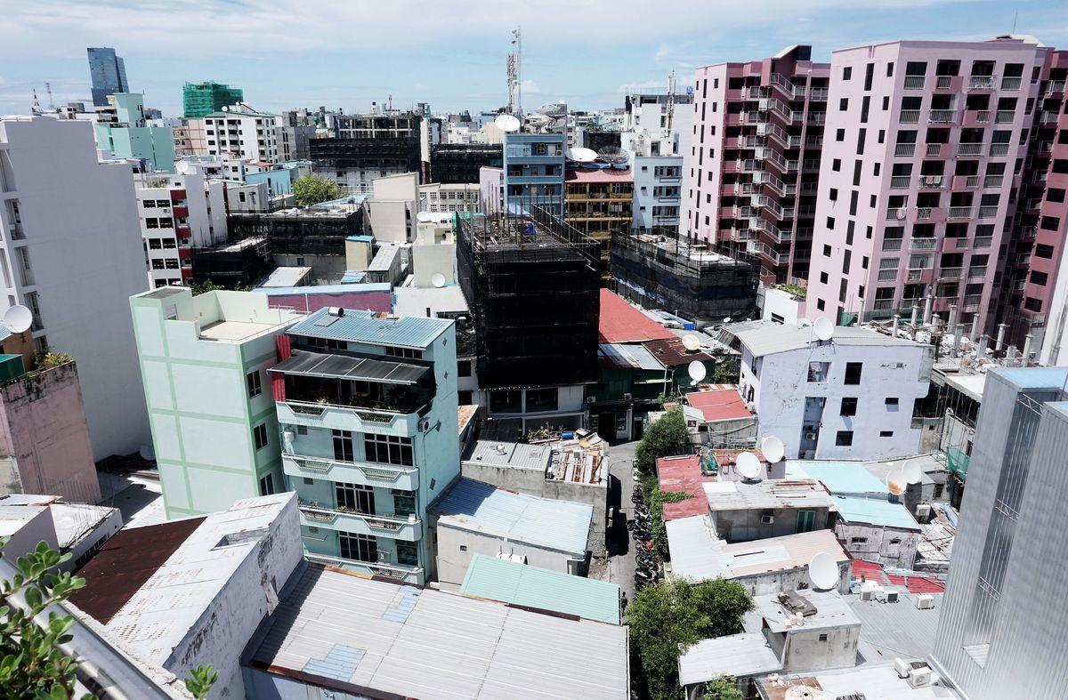 馬爾代夫民主黨領導人表示,該國與中共洽簽自由貿易協定(FTA)是個錯誤,新政府計劃退出。圖為馬爾代夫首都一景。(AFP/Getty Images)