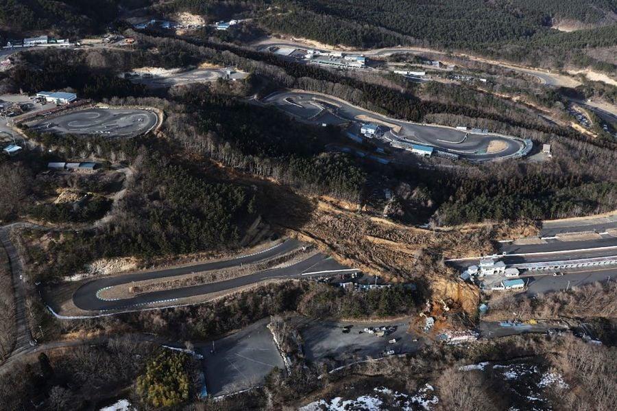 組圖:日本福島7.3級地震引發山泥傾瀉