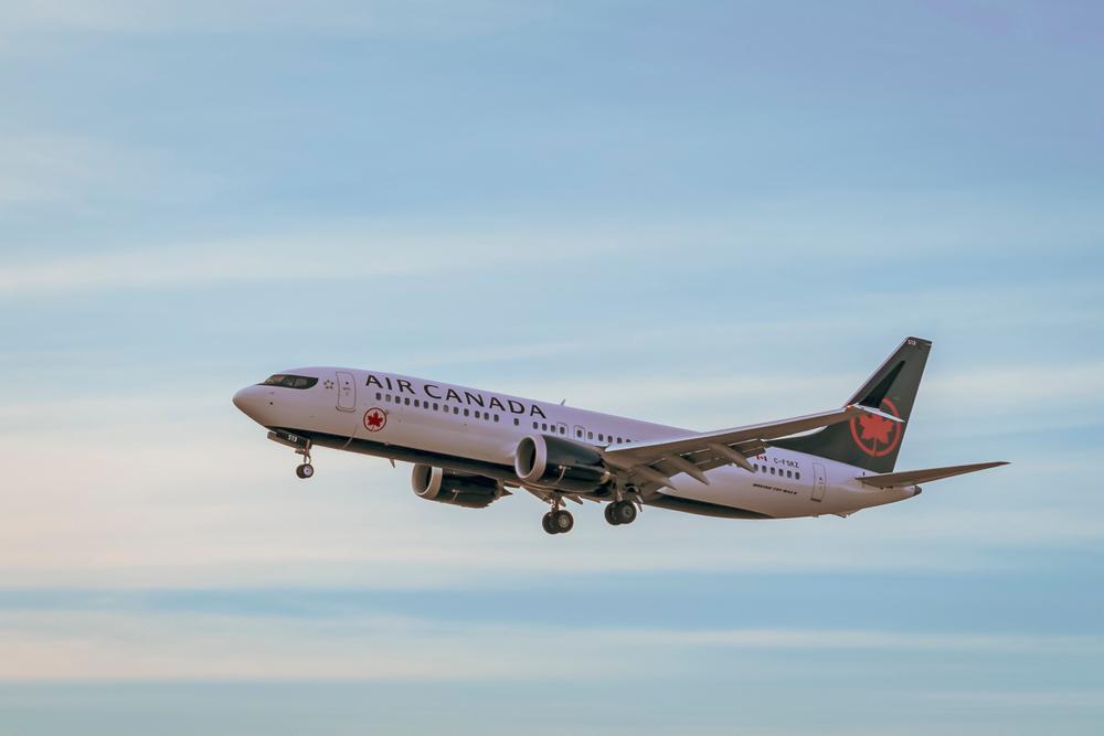 加拿大航空最近被評為2019年年度航空公司。(Shutterstock)