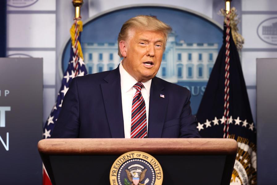 特朗普G20峰會發言 強調美肺炎疫情應對成效
