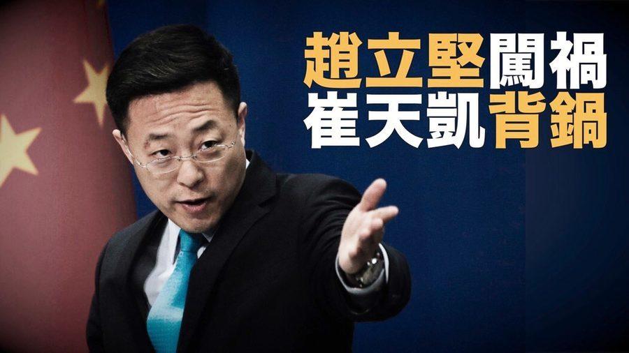 趙立堅炫新四大發明鬧笑話 被諷「五毛水平」