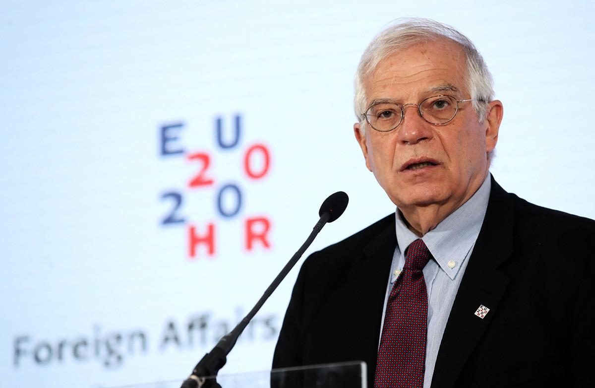 歐盟外交政策負責人何塞普·博雷爾(Josep Borrell)。(Damir SENCAR/AFP)